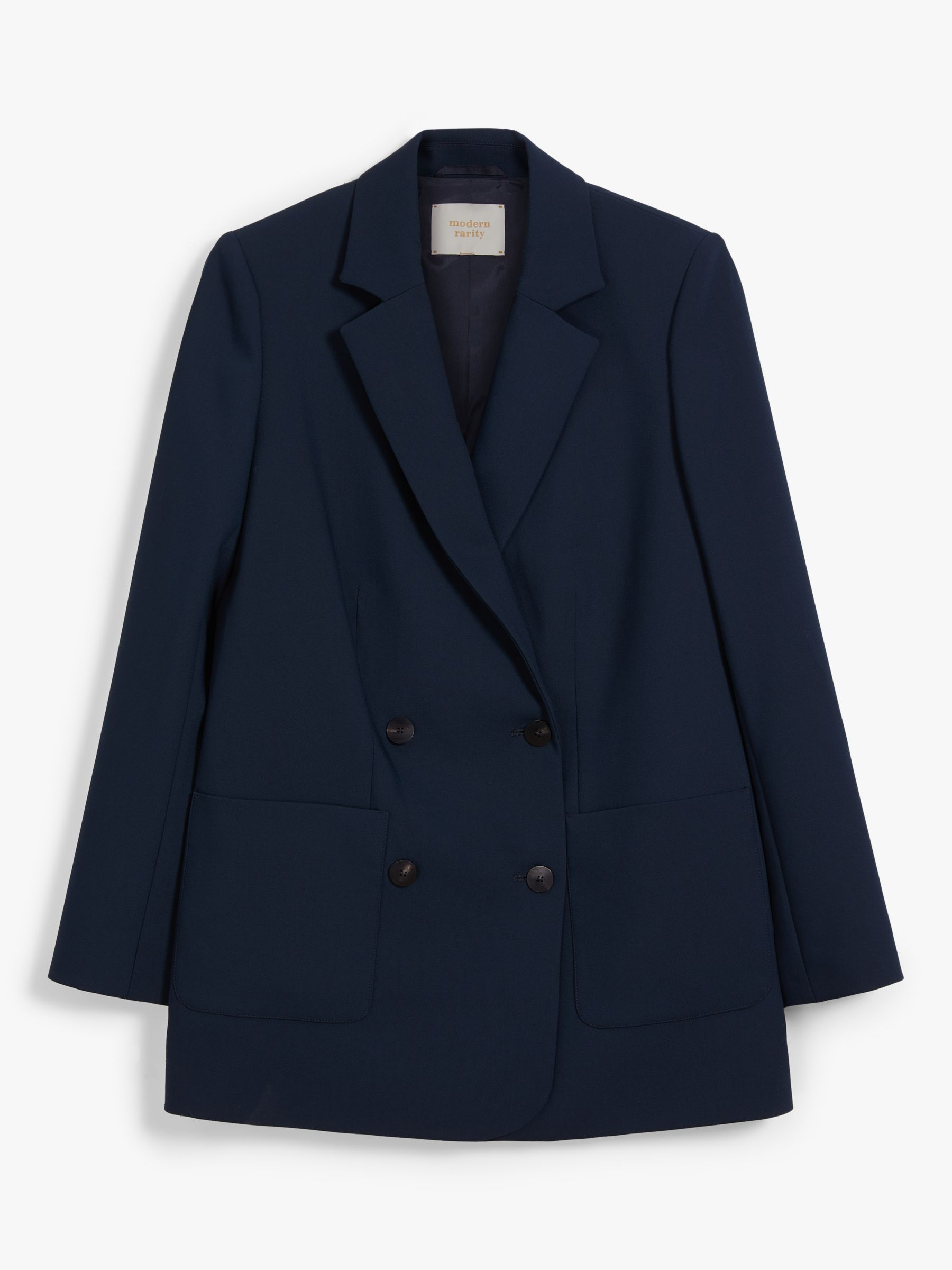 Modern Rarity Double Breasted Blazer, Navy