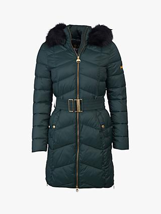 Barbour International Match Quilted Coat