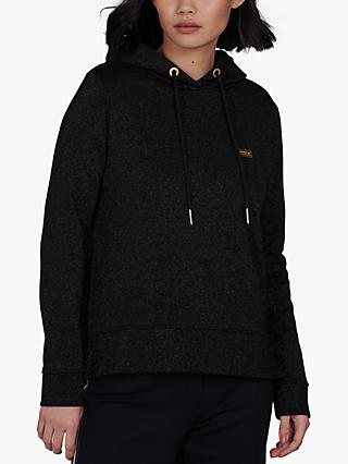 Barbour International Wheelspin Hoodie, Black
