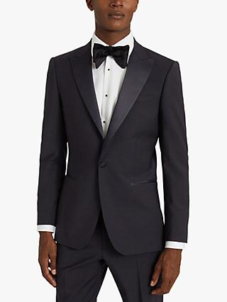Reiss Poker Performance Modern Fit Dress Suit Jacket, Navy