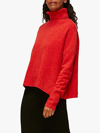 Whistles Roll Neck Merino Wool Jumper