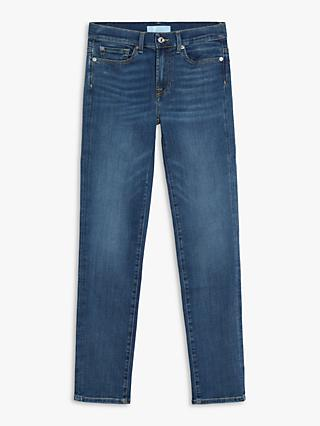 7 For All Mankind Roxanne B(air) High Rise Slim Ankle Jeans, Vintage Dusk