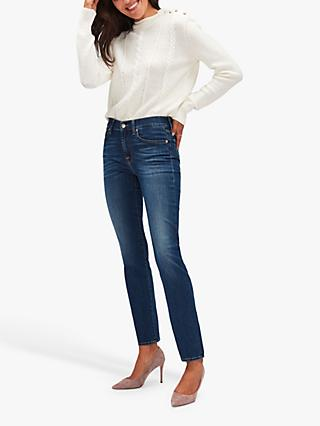 7 For All Mankind Roxanne Ankle Jeans, Duchess