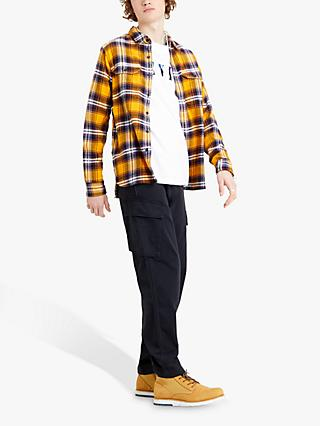 Levi's Jackson Check Worker Shirt, Yellow
