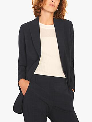 Jigsaw Prince of Wales Jacket, Navy