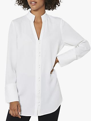 Mint Velvet Off-White Shirt, Ivory