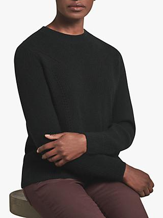 Pure Collection Ribbed Cashmere Sweater