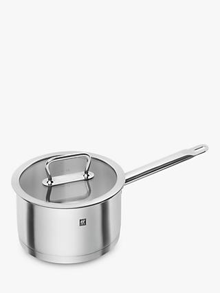 ZWILLING Pro Stainless Steel Saucepan & Glass Lid