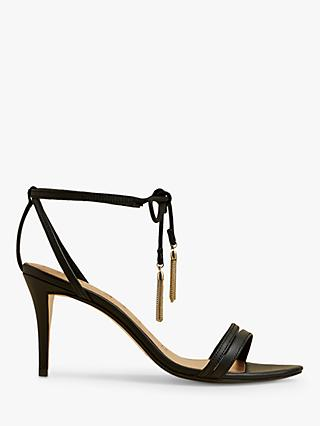 Ted Baker Jelissa Tassel Tie Strappy Leather Sandals