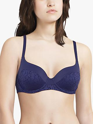 Femilet Norah Soft Feel T-Shirt Bra, Night Blue