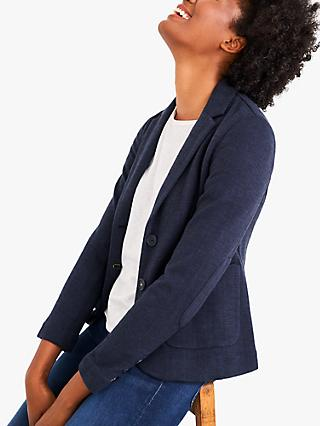 White Stuff Soho Blazer, Dark Navy
