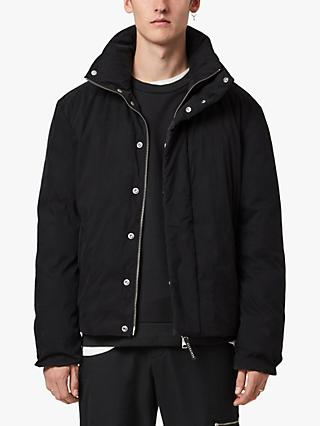 AllSaints Canis Puffer Jacket, Black