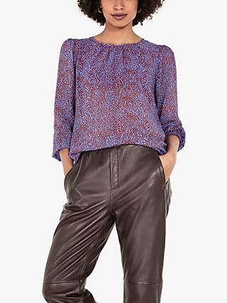 hush Eliane Animal Print Blouse, Multi