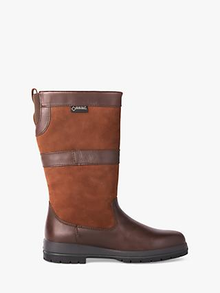 Dubarry Kildare Leather Gore-Tex Calf Boots, Brown