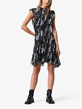 AllSaints Fleur Cultivar Dress, Black