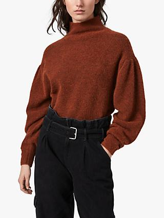 AllSaints Vika Funnel Neck Jumper