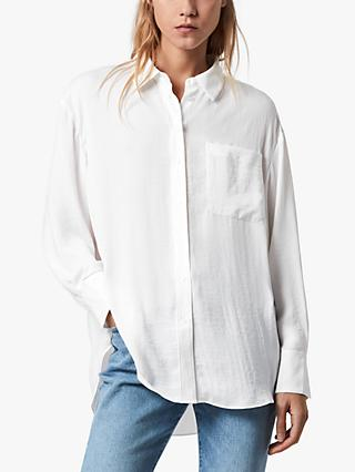 AllSaints Bernie Shirt, Warm White