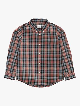 Polarn O. Pyret Children's Check Shirt