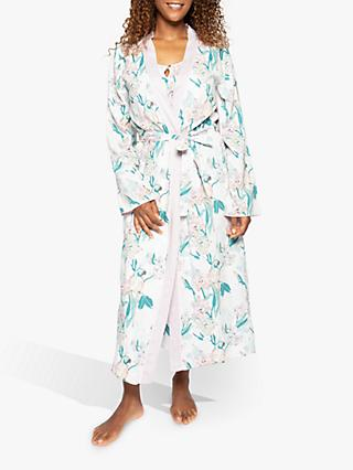 Nora Rose by Cyberjammies Lucy Parrot Robe, Pink