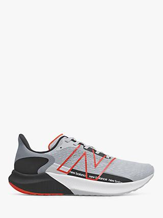 New Balance FuelCell Propel v2 Men's Running Shoes, Steel/Black/Neo Flame