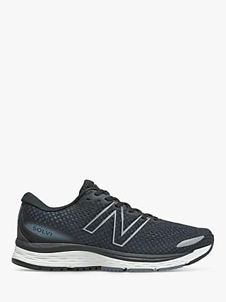 New Balance Solvi v3 Men's Running Shoes, Black/Ocean Grey