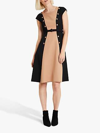 Damsel in a Dress Ethel Colour Block Knee Length Dress