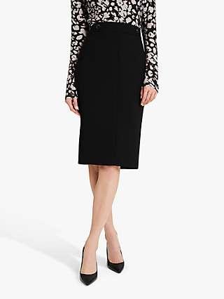 Damsel in a Dress Margot Tailored Suit Skirt, Black