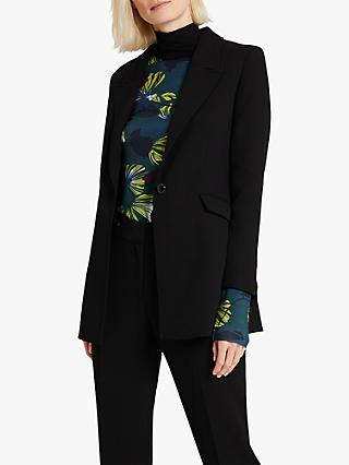 Damsel in a Dress Margot Tailored Blazer, Black
