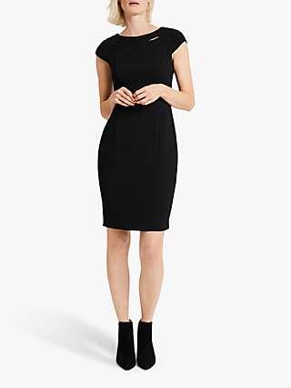 Damsel in a Dress Margot Tailored Knee Length Dress, Black