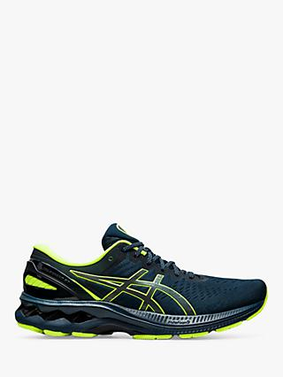 ASICS GEL-KAYANO 27 Lite-Show Men's Running Shoes, French Blue/Light-Show