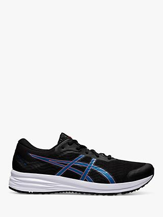 ASICS PATRIOT 12 Men's Running Shoes, Black/Reborn Blue