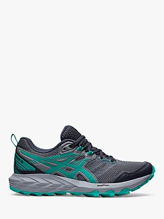 ASICS GEL-SONOMA 6 Women's Trail Running Shoes, Carrier Grey/Baltic Jewel