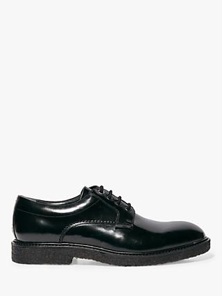 AllSaints Low Leather Shoes, Black