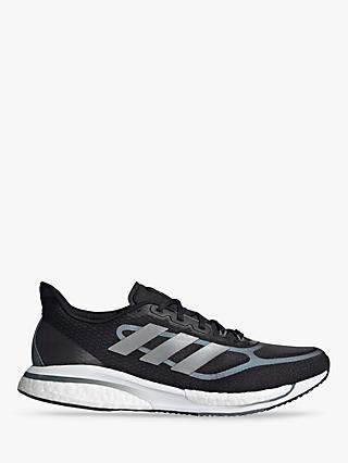 adidas Supernova+ Men's Running Shoes, Core Black/Silver Met./Blue Oxide