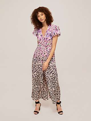 Somerset by Alice Temperley Floral Animal Jumpsuit, Multi