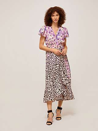 Somerset by Alice Temperley Floral Animal Dress, Multi