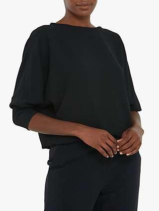 Helen McAlinden Lal Sweatshirt Top, Black
