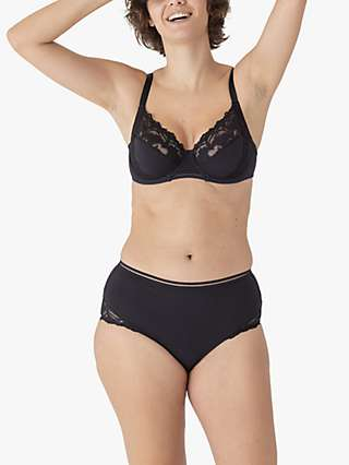 Maison Lejaby Adage Lace High Waisted Briefs