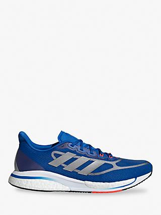adidas Supernova 3 Men's Running Shoes, Football Blue/Silver Met./Solar Red
