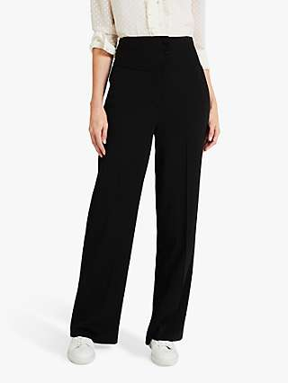 Damsel in a Dress Nellie Wide Leg Trousers, Black