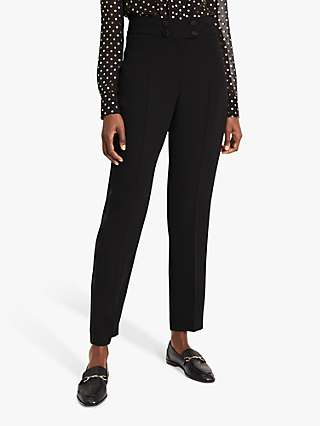 Damsel in a Dress Elsie Tux Satin Trim Trousers, Black