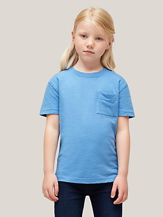 John Lewis & Partners Kids' Solid Short Sleeve T-Shirt