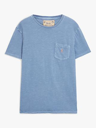 Polo Ralph Lauren Custom Slim Fit Jersey Pocket T-Shirt