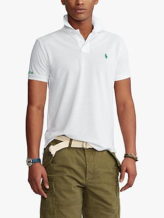 Polo Golf by Ralph Lauren Shirt Sleeve Polo Shirt, Freshwater/White