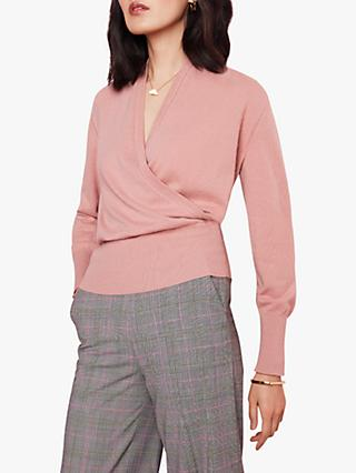 The Fold Howell Cashmere Jumper, Pink