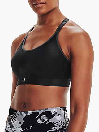 Under Armour Infinity Mid Printed Sports Bra