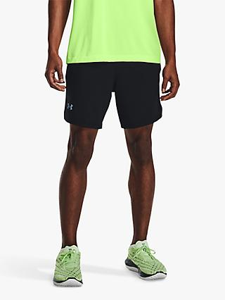 Under Armour Launch Run 2-in-1 Running Shorts, Black