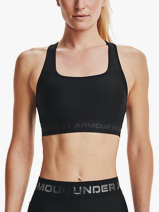 Under Armour Mid Armour Crossback Sports Bra