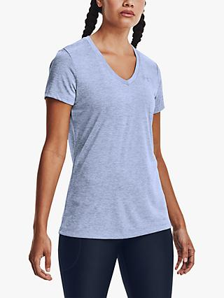 Under Armour Twist Tech Short Sleeve V-Neck Training Top