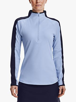 Under Armour Storm Midlayer 1/2 Zip Women's Golf Jacket, Isotope Blue